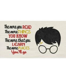 Harry Potter Face Applique The more you