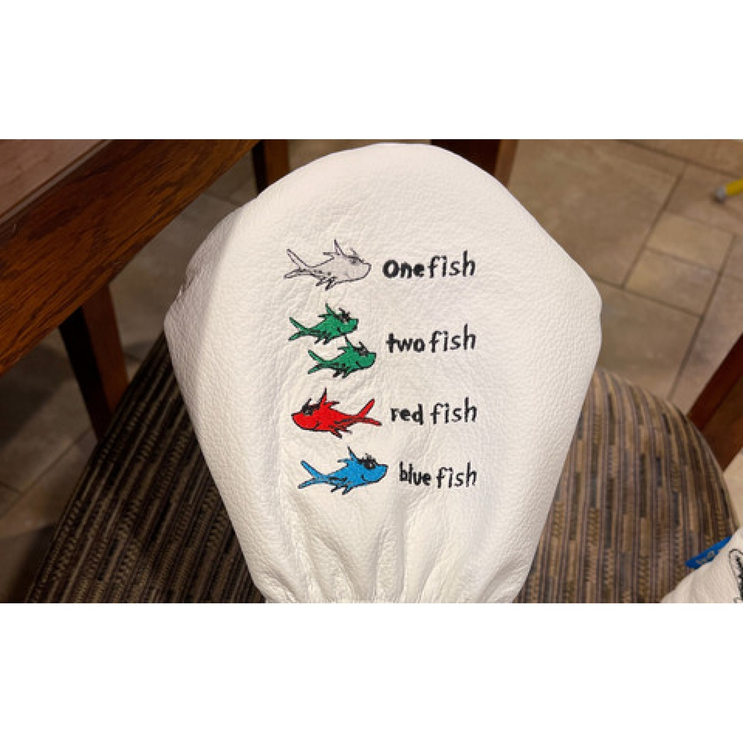 One fish two fish Design Embroidery