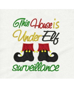 This house v2 embroidery design