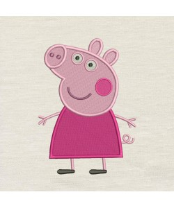 Peppa Pig V2 Embroidery