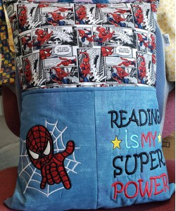 Spiderman with Reading is My Superpower