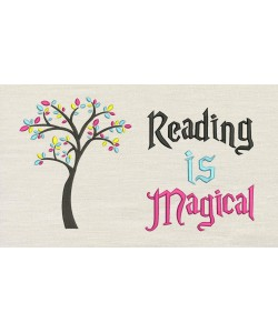 Tree colors with Reading is Magical
