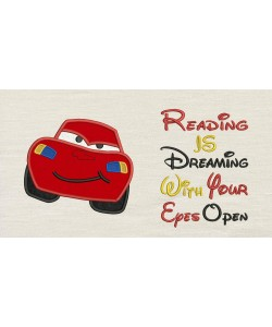 McQueen with reading is dreaming
