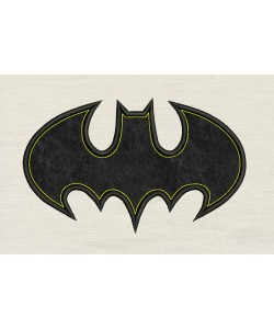 Batman logo single design