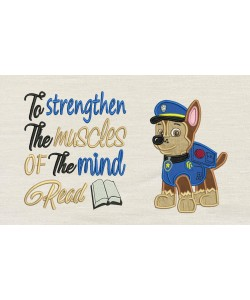 Chase Paw Patrol with To strengthen