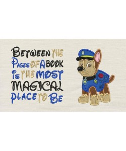 Chase Paw Patrol with Between the Pages