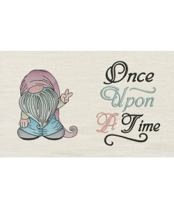 Gnome with once upon