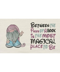 Gnome with Between the Pages