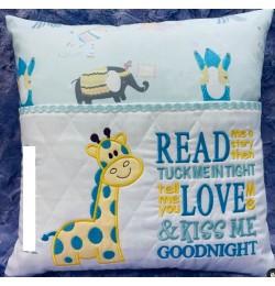 Giraffe read me a story designs