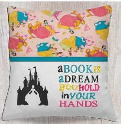 Cinderella Castle with a book is a dream