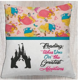 Cinderella Castle with reading takes you