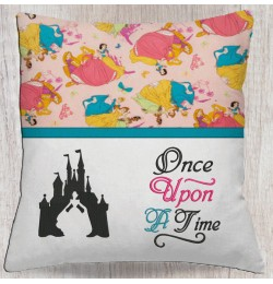 Cinderella Castle with once upon
