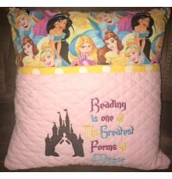 Cinderella Castle with reading is one designs