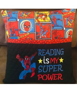 Spiderman grand with Reading is My Superpower