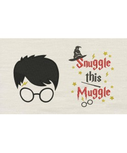 Harry potter face with Snuggle