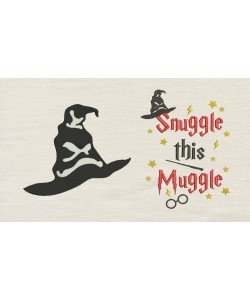 Harry sorting hat with Snuggle