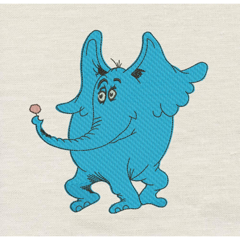 Horton embroidery design