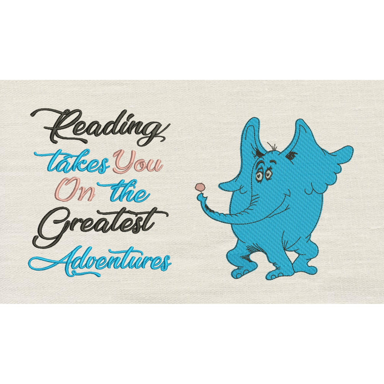 Horton with reading takes you