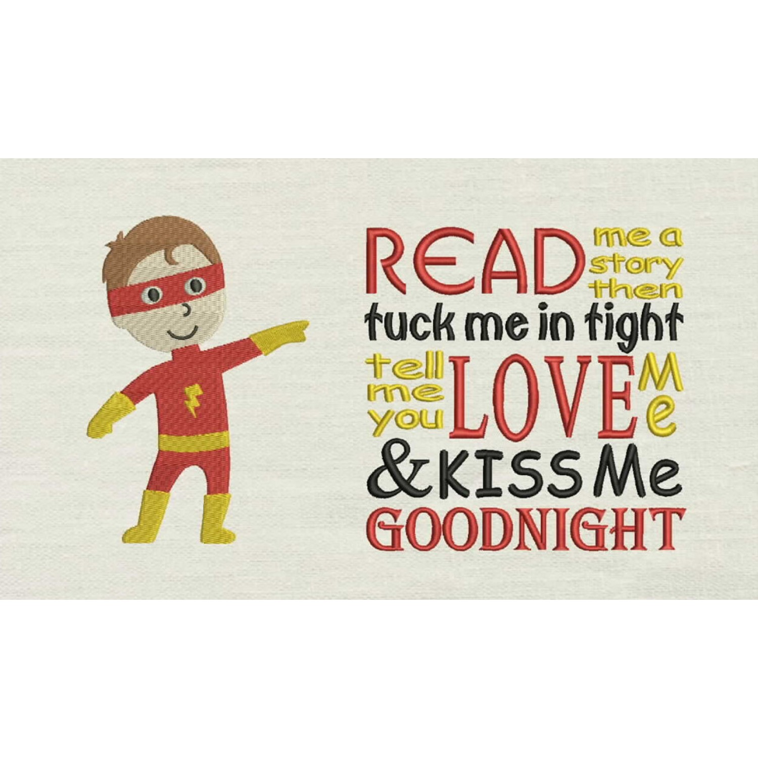 Flash boy with read me story