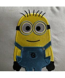 Bob minion embroidery design