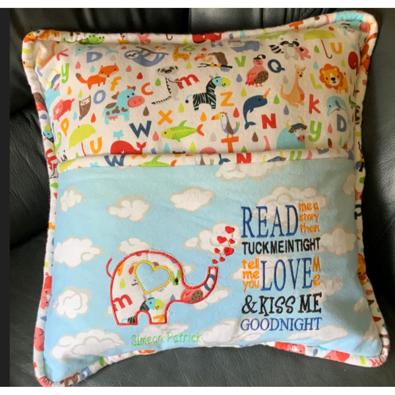 Elephant Hearts with read me a story design