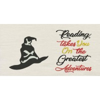 Harry sorting hat with reading takes you
