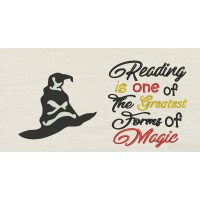 Harry sorting hat with Reading is one