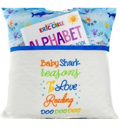 Baby shark reasons embroidery designs