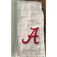 Alabama logo embroidery design