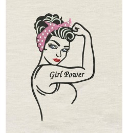 Rosie The Riveter Girl Power