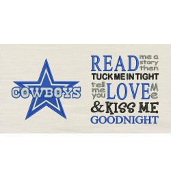 Dallas Cowboys with read me a story