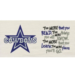 Dallas Cowboys with the more that you read