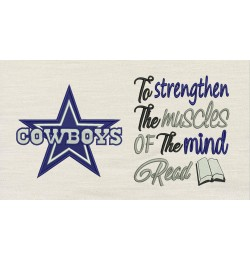 Dallas Cowboys with To strengthen
