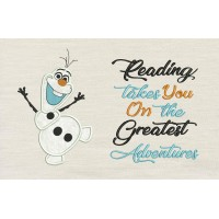 Olaf with reading takes you