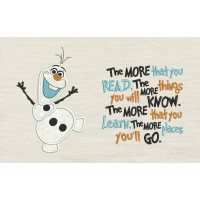 Olaf with the more that you read