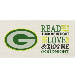 Green Bay Packers with Read me a story