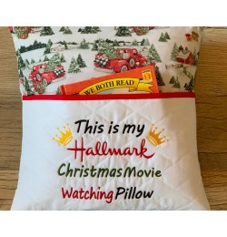This is my hallmark pillow embroidery