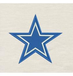 Dallas Cowboys star design