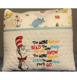 Dr. Seuss stitches with the more that you read designs