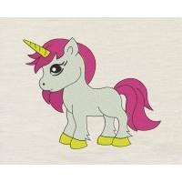 Unicorn girl Embroidery