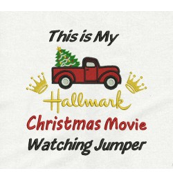 This is my hallmark jumper embroidery design