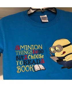 minion writes a minion things to do