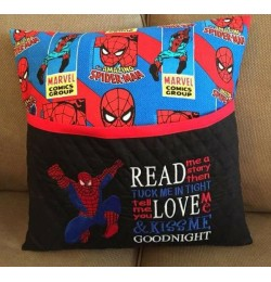 spiderman grand read me a story