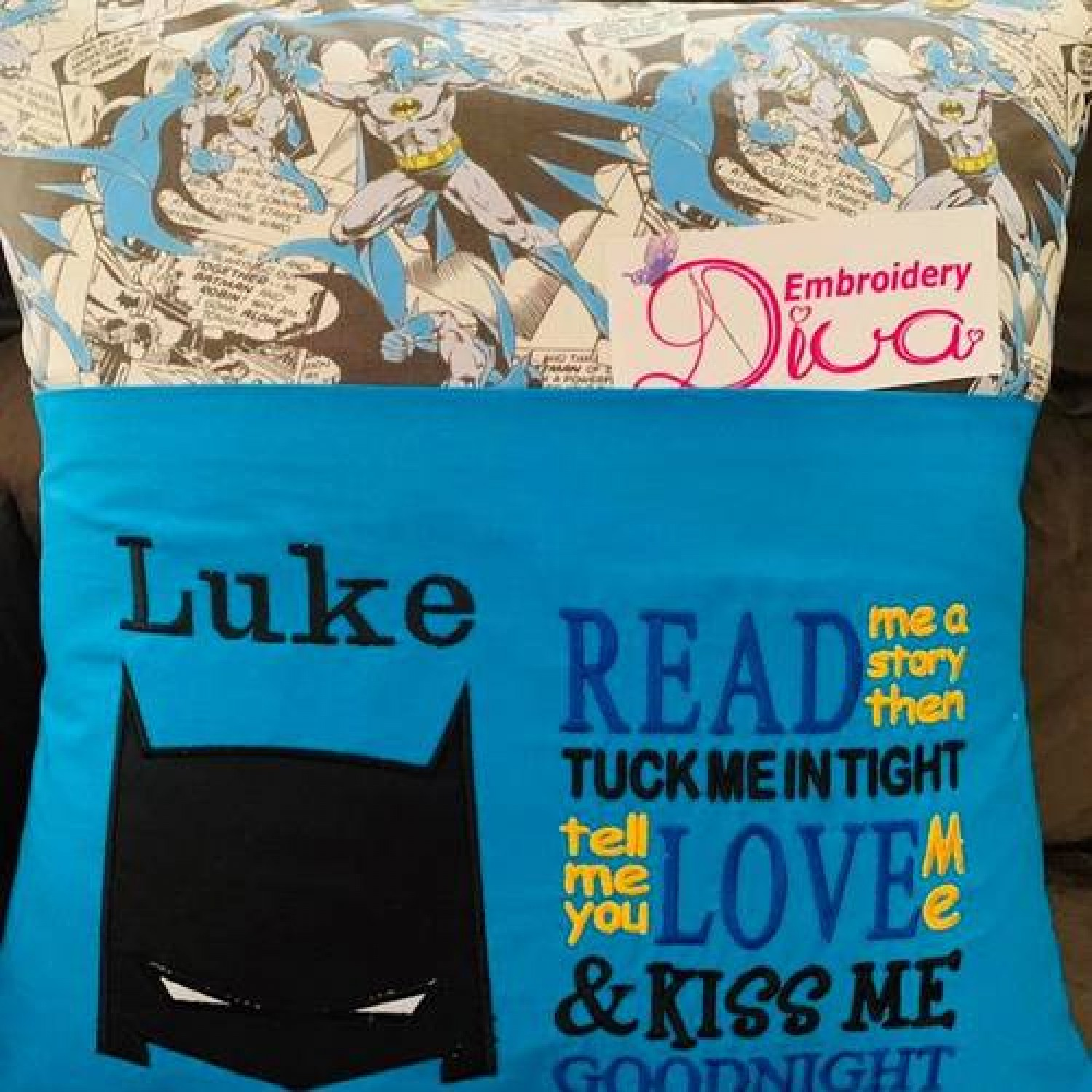 Batman Mask with read me a story