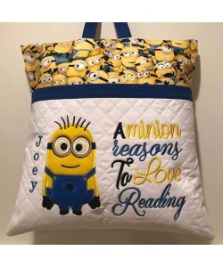 bob minion applique with a minion reasons 2 designs 3 sizes