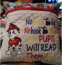 Marshal dog no book too big