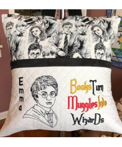 Harry Potter line with Books Turn 2 designs 3 sizes