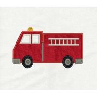 Fire Truck Applique
