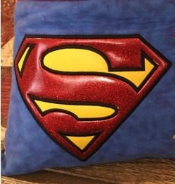 Superman logo applique