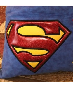 Superman logo applique